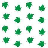 Folhas sem emenda do verde do fundo do teste padrão Foto de Stock