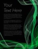 Folheto, cartaz ou inseto com fundo preto Imagens de Stock