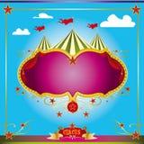 Folheto do divertimento do circo Fotografia de Stock