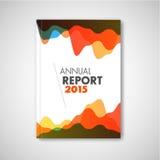 Folheto do sumário do vetor/molde modernos projeto do relatório ilustração do vetor