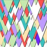 Folheto triangular do negócio Foto de Stock