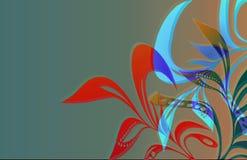 Foliage_1 que fluye Fotografía de archivo libre de regalías
