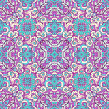 Purple seamless pattern Stock Images