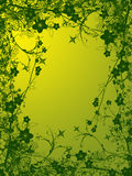 Foliage abstract illustration. Illustration of foliage abstract in green yellow background Royalty Free Stock Photography