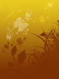Foliage abstract illustration Royalty Free Stock Photo