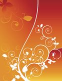 Foliage background Stock Images