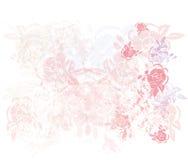 Foliage Background Design. A foliage background design with grunge elements Stock Photography