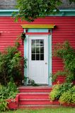 Foliage door Stock Image