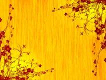 Foliage illustration. Shining bright plant foliage illustration Royalty Free Stock Photos