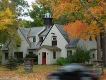 Foliage in Massachusetts. Peak Season of foliage in Massachusetts stock image