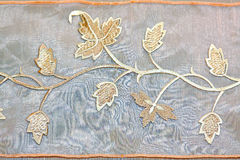 Foliage needlework Stock Photography