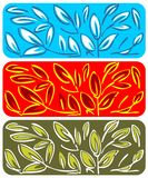 Foliage pattern Stock Photos