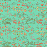 Foliage pattern Stock Image