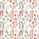 Foliage pattern Royalty Free Stock Photos