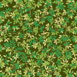 Foliage Seamless. Seamless both side foliage pattern background, vector layered Royalty Free Stock Image