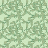 Foliage Seamless Pattern Stock Photography