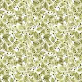 Foliage Seamless Pattern. Light green Watercolor. Royalty Free Stock Images