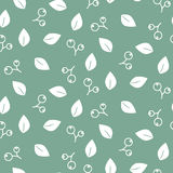 Foliage seamless vector pattern. Royalty Free Stock Photography