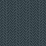 Foliage semless background. Neutral tileable pattern of vertical lines of leaves. Vector EPS10 Stock Photo