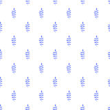 Foliage vector seamless pattern Royalty Free Stock Photography