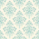 Foliate green pattern Royalty Free Stock Image