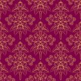 Modelo púrpura Foliate ilustración del vector