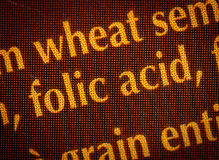 Folic acid Stock Photography
