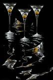 Folie de Martini Image libre de droits