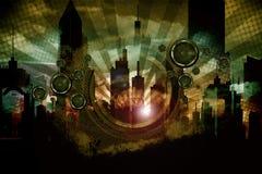 Folie sonore urbaine Image stock