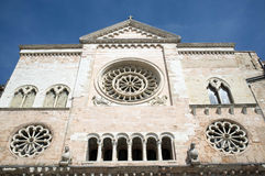 Foligno medeltida stad, Italien Royaltyfria Bilder