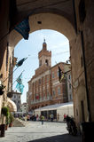 Foligno medieval town, Italy Stock Photo
