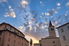 Foligno Perugia, Itália Fotografia de Stock Royalty Free
