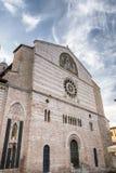 Foligno Perugia, Itália, catedral Imagens de Stock