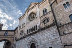 Foligno Perugia, Itália, catedral Fotos de Stock