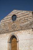 Foligno Perugia, Italy, church Stock Image