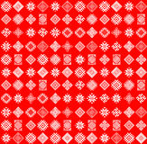 Folk abstract geometric repeating background texture. Fabric design. Stock Photography