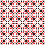 Folk abstract pattern Stock Image
