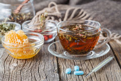 Folk alternative medicine concept Royalty Free Stock Photos