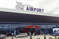 Folk ar flygplatsen Royaltyfri Fotografi