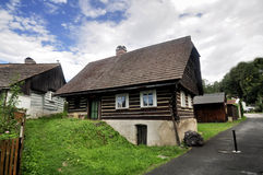 Folk architecture. Semily - Czech Republic Royalty Free Stock Images