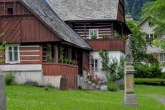 Folk architecture Stock Images