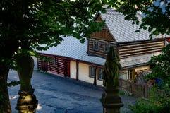 Folk arkitektur Royaltyfria Bilder