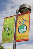 Folk Art Market Annual event in Santa Fe, NM USA Royalty Free Stock Photo