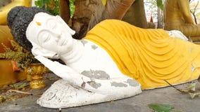 Folk art reclining Buddha statue Stock Image