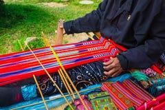 Folk art of Vietnam tradition Stock Image