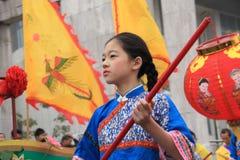 Folk arts parade Stock Photography