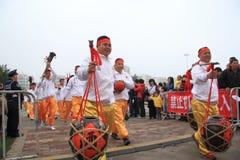 Folk arts parade Stock Image