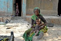 Folk av Jharkhand Fotografering för Bildbyråer