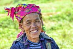 Folk av Sa-PA i Vietnam Royaltyfri Bild