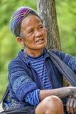 Folk av Sa-PA i Vietnam Fotografering för Bildbyråer
